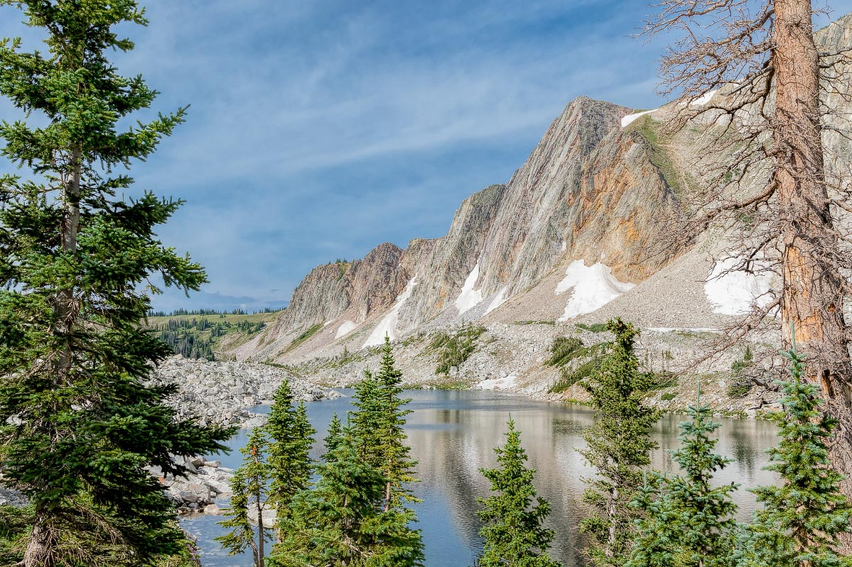 Lookout Lake Snowy Range Wyoming
