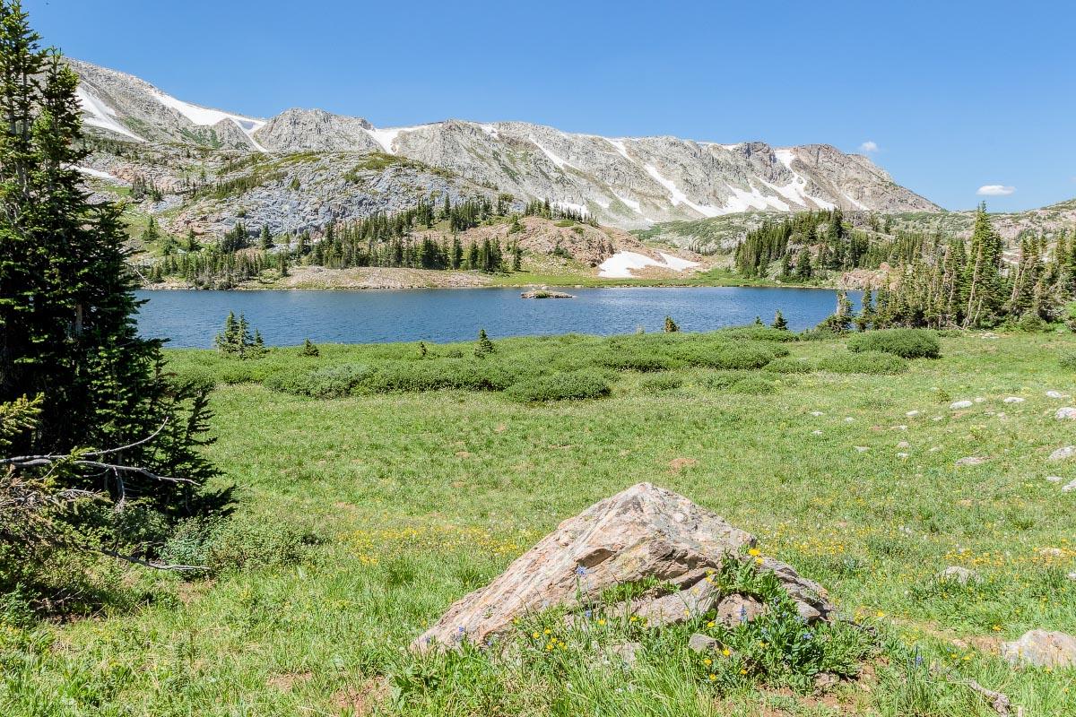 Libby Lake Snowy Range Wyoming