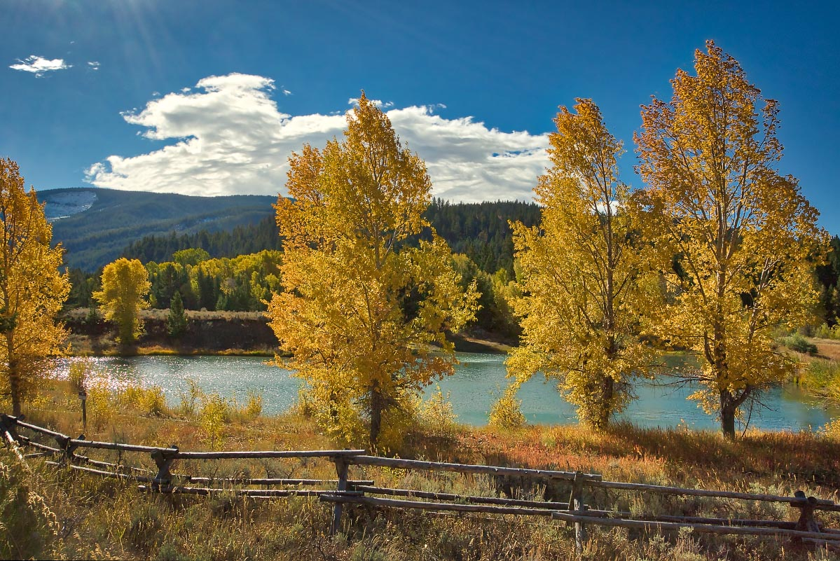 Gros Ventre River Wyoming
