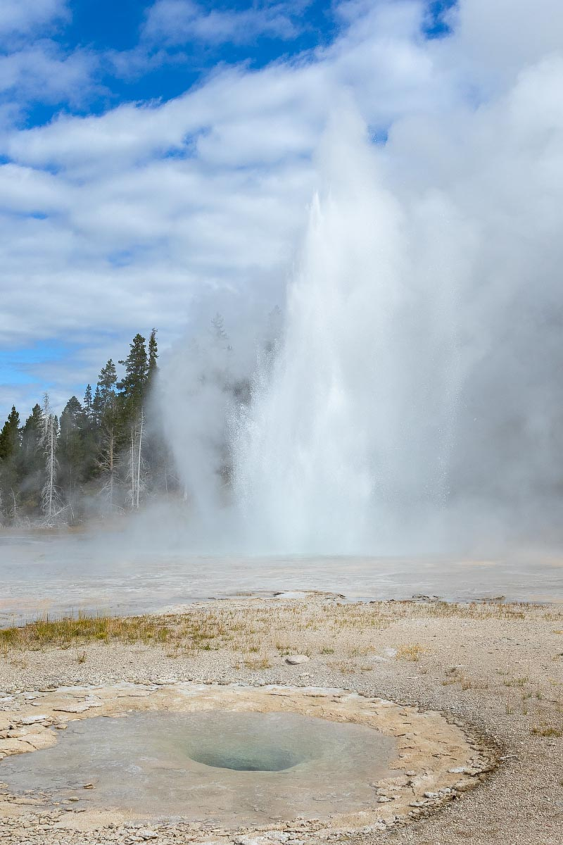 Grand Geyser Yellowstone Wyoming
