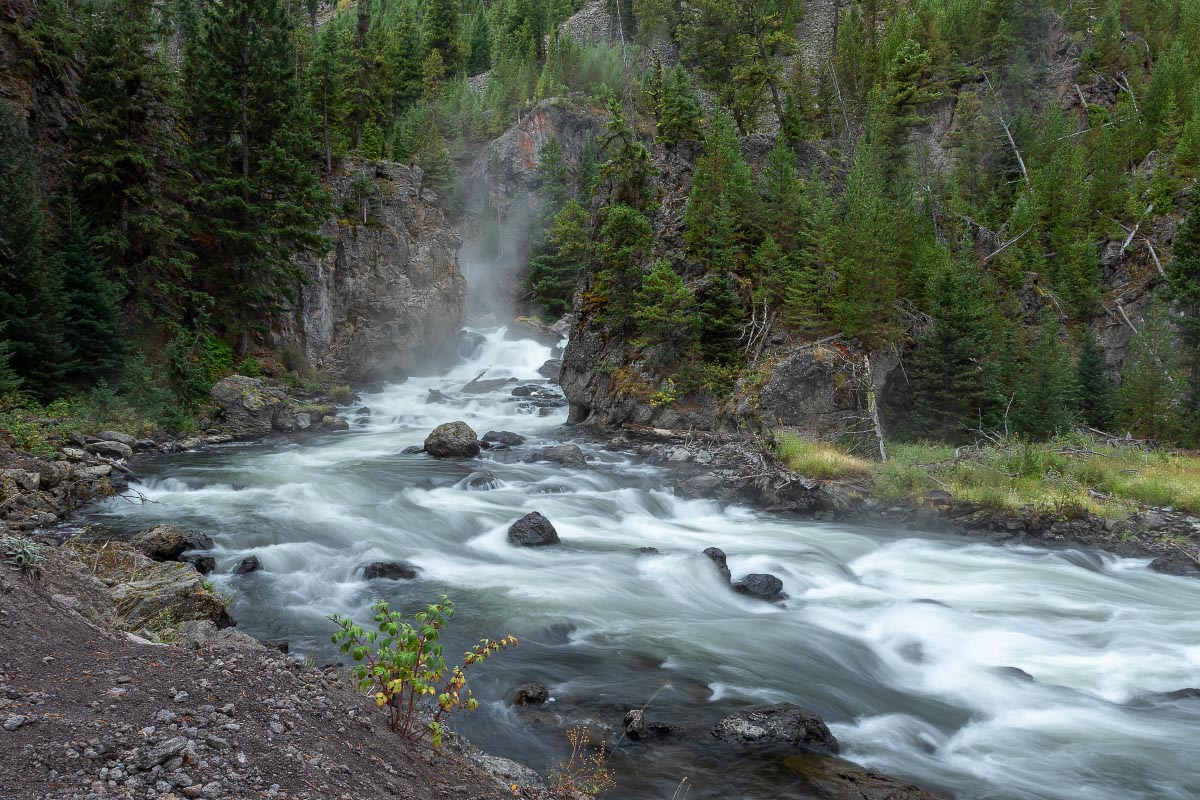 Firehole River Yellowstone Wyoming