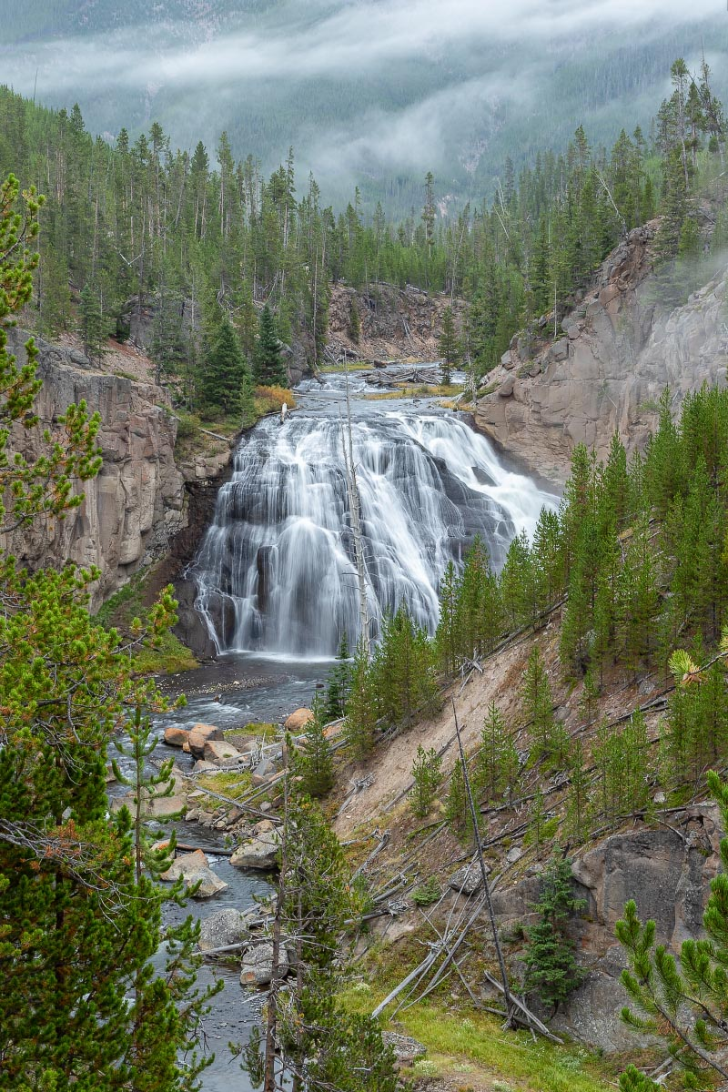 Gibbon Falls Yellowstone Wyoming