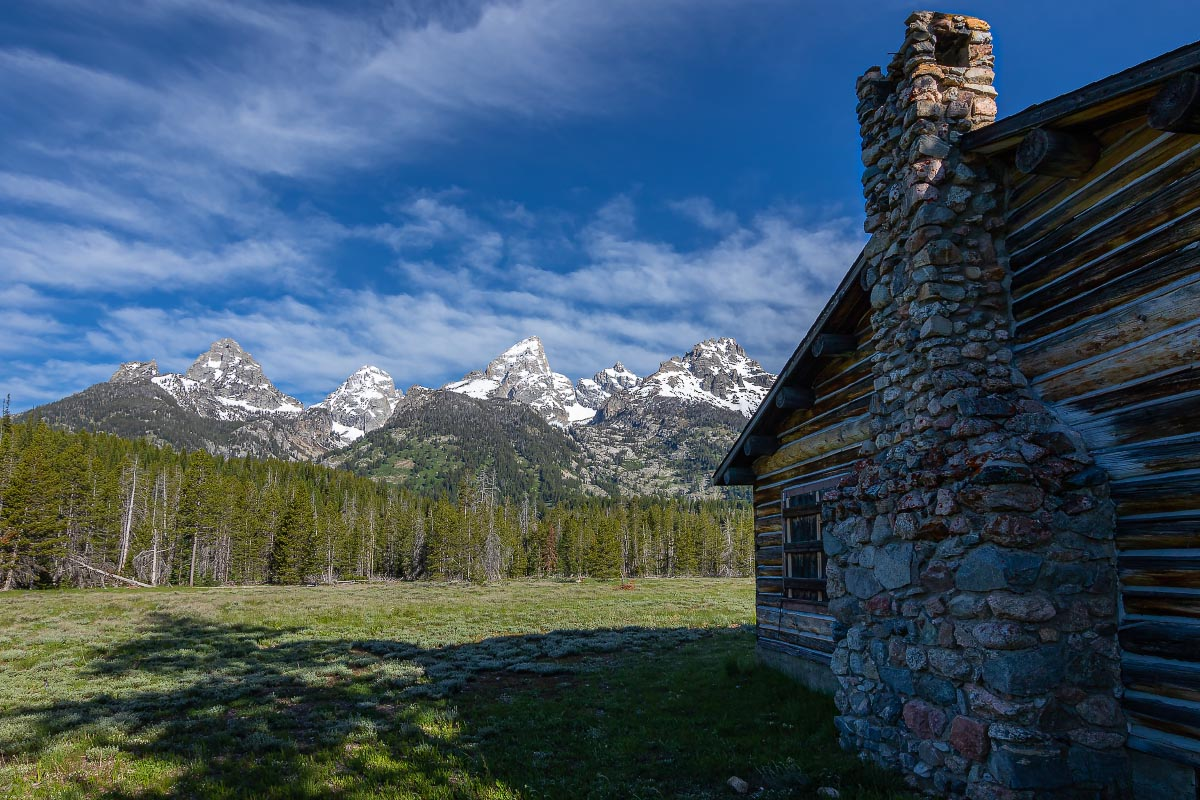 Lucas-Fabian Homestead Grand Teton National Park Wyoming