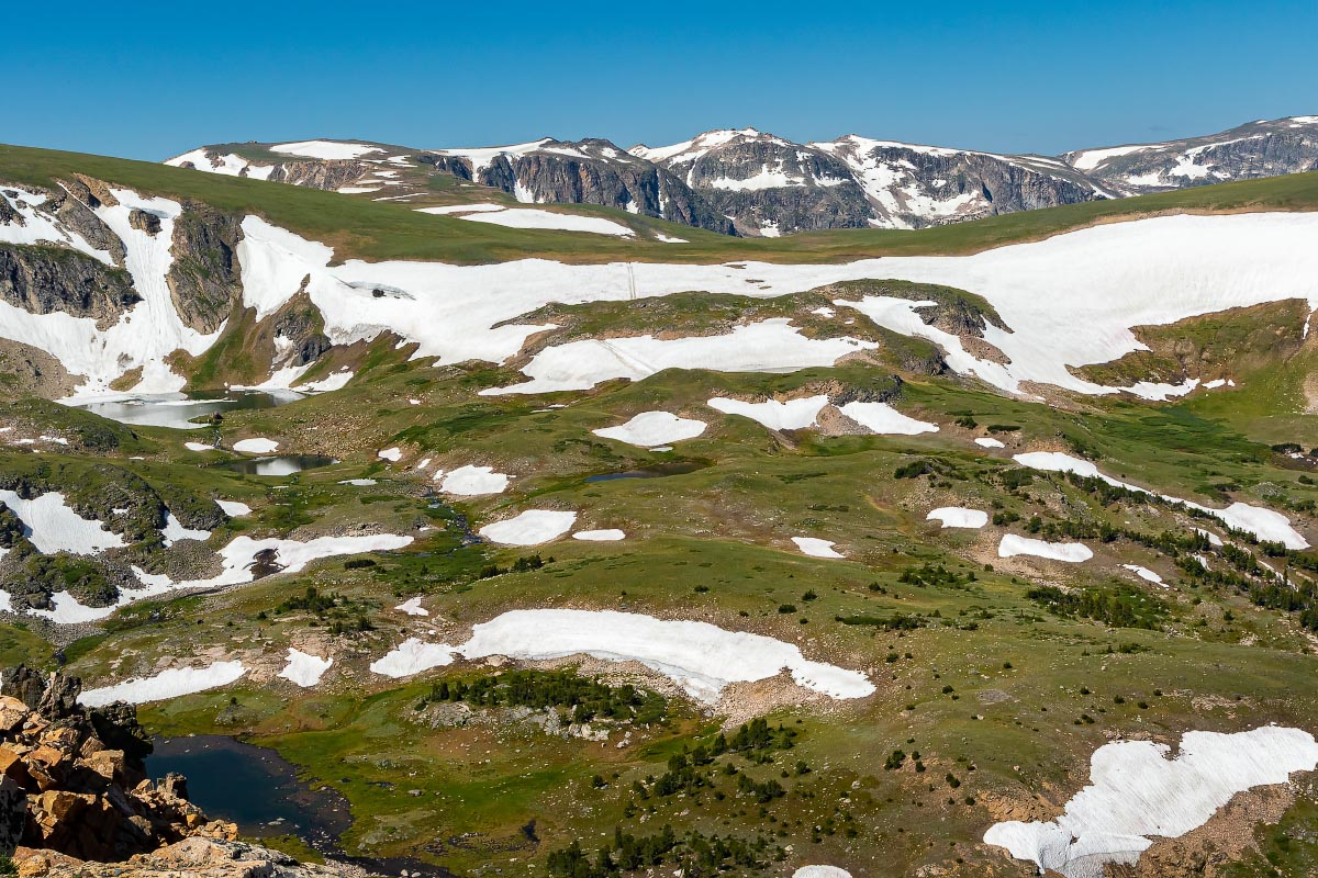 Beartooth Mountains Wyoming