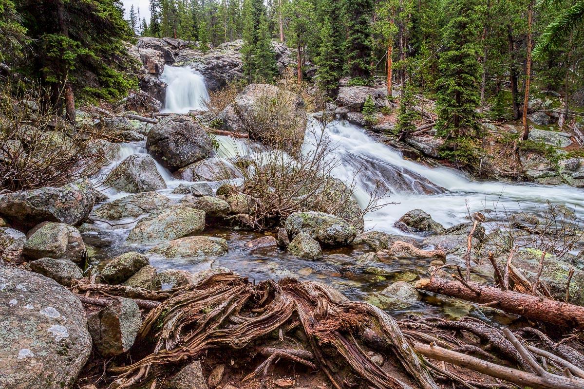 West Tensleep Falls Big Horn Mountains Wyoming
