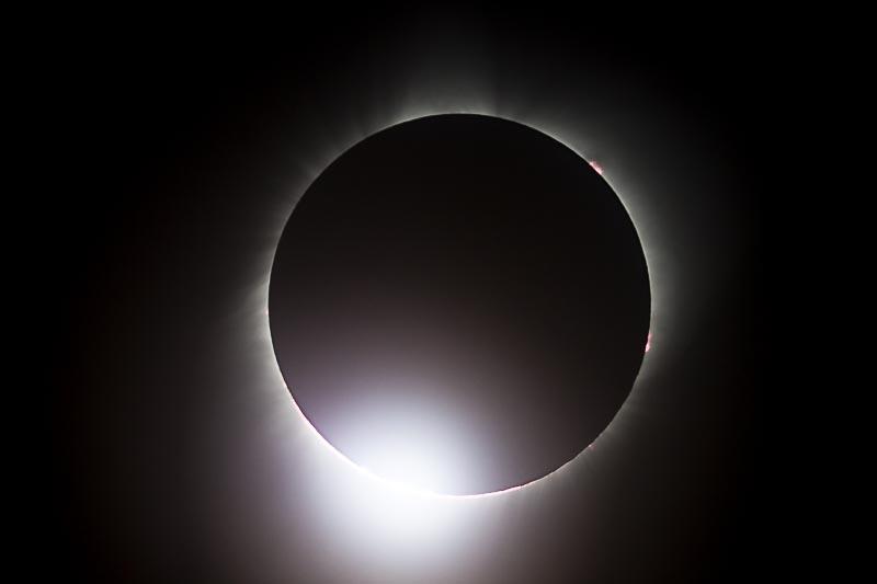 2017 Solar Eclipse Diamond Ring