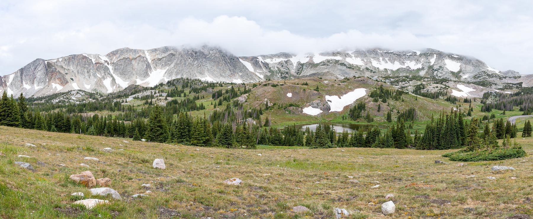Snowy Range pano Wyoming