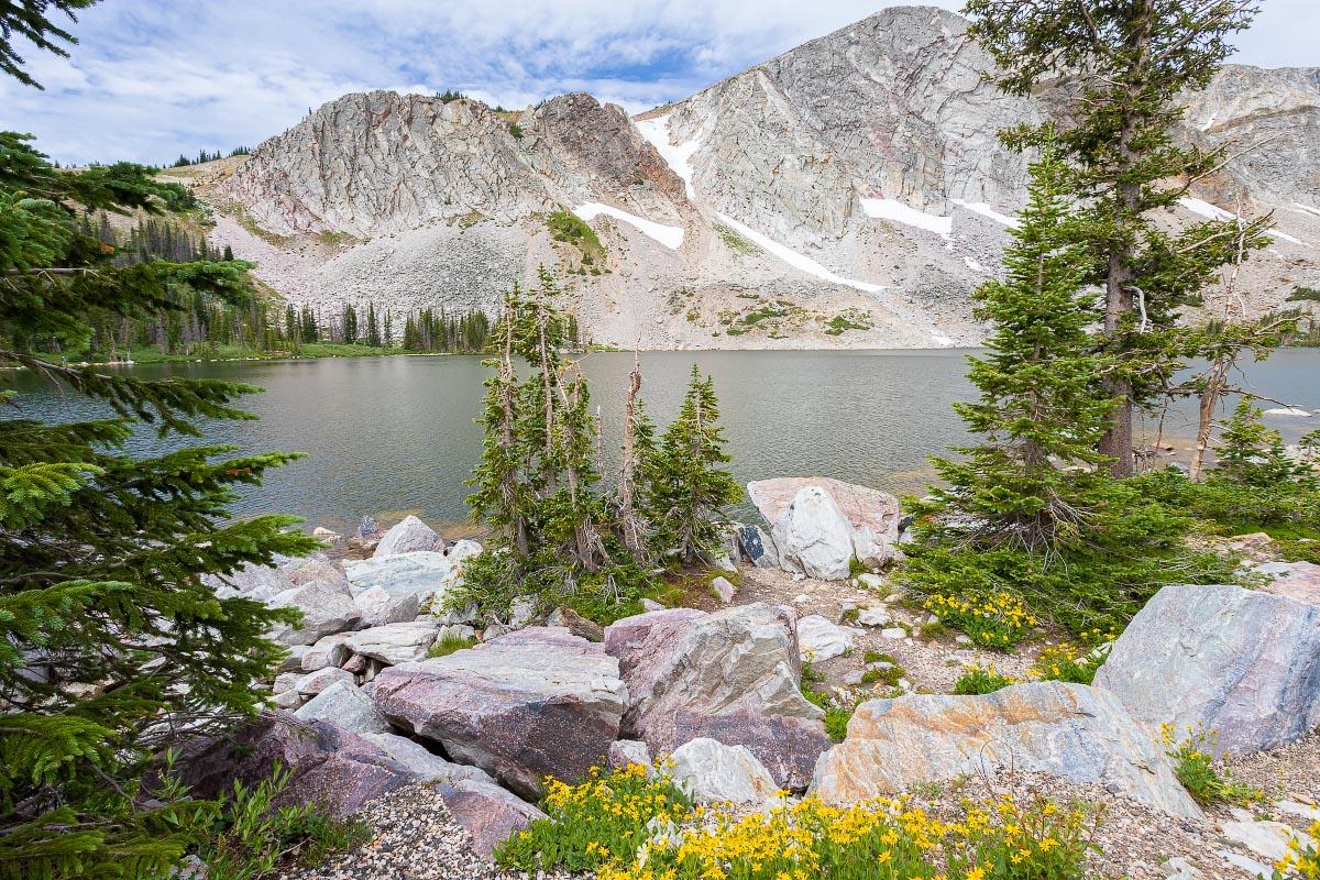 Lake Marie Snowy Range Wyoming