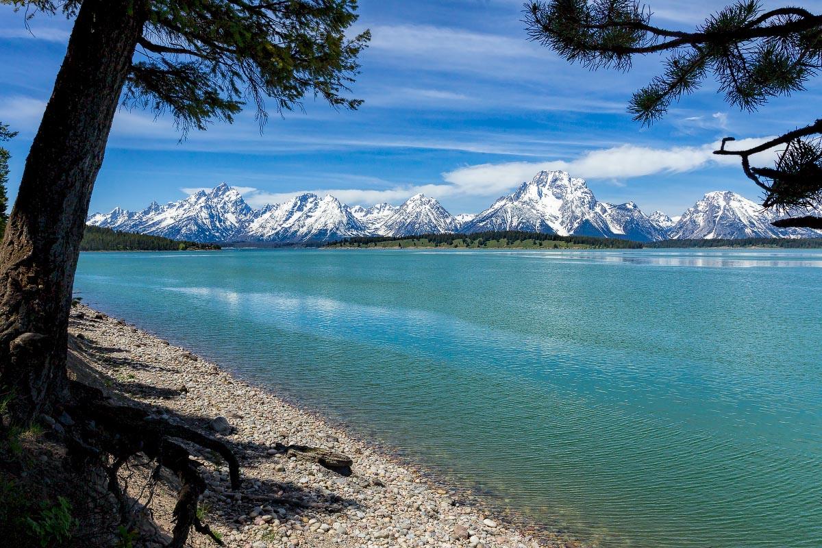 Jackson Lake Grand Teton National Park Wyoming