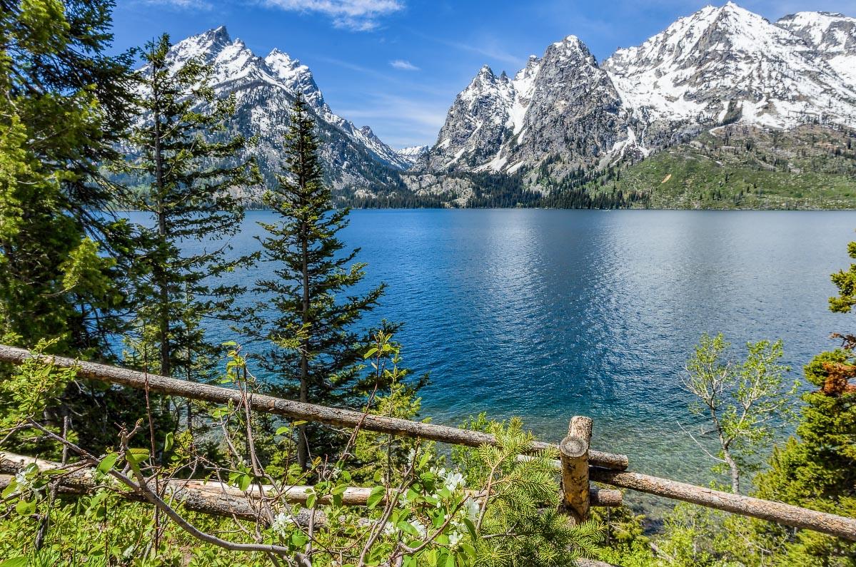 Jenny Lake Grand Teton National Park Wyoming