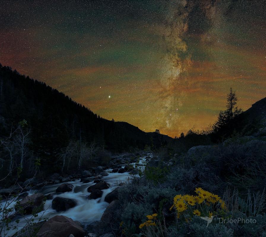 Sinks Canyon Milky Way