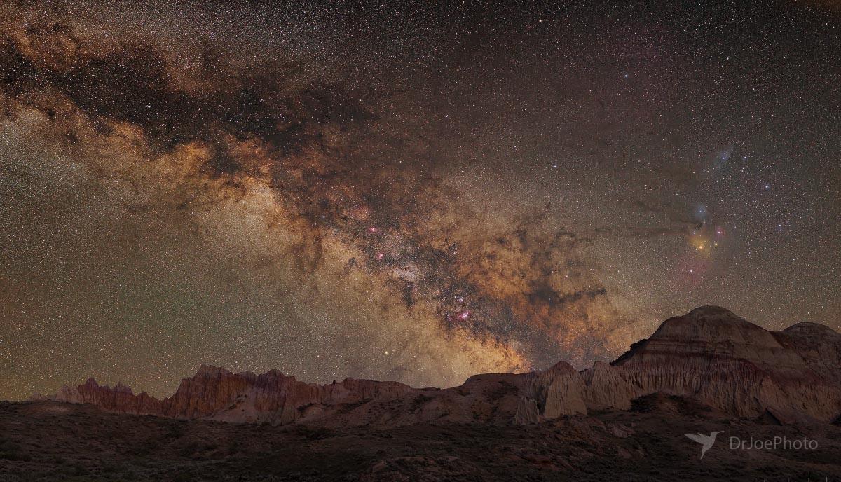 Sand Draw Wyoming Milky Way